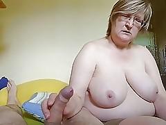 jerking off : milf pussy fuck