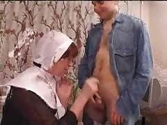 nun porn : curvy milf porn