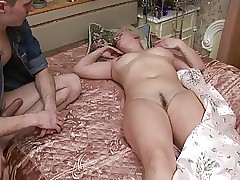 young and old : mature anal orgy