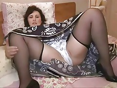 stockings porn : hot wet milf pussy